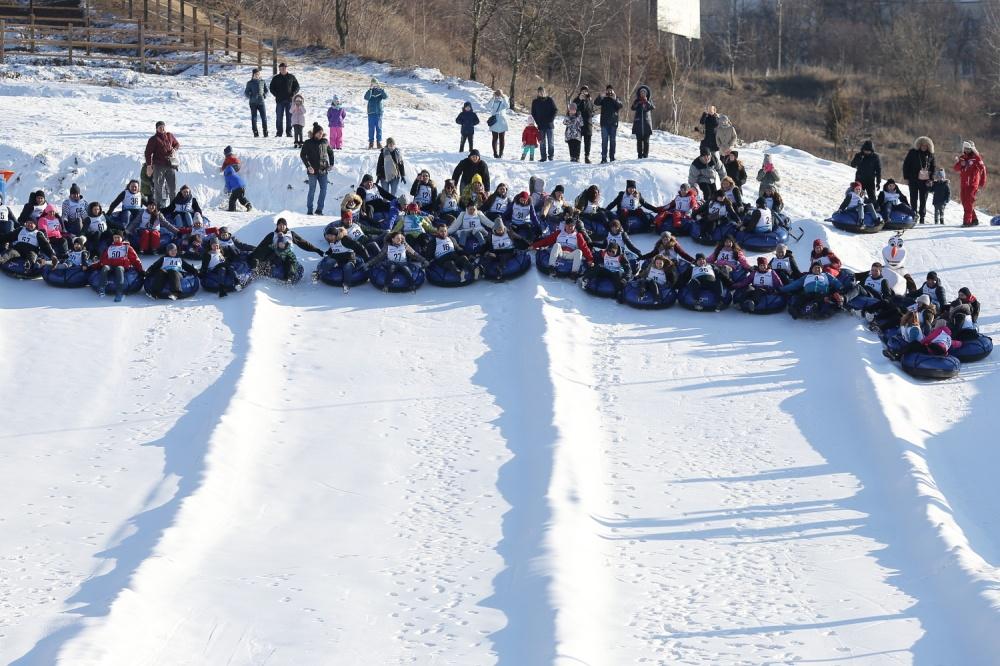 Савич парк рекорд на сноутюбах