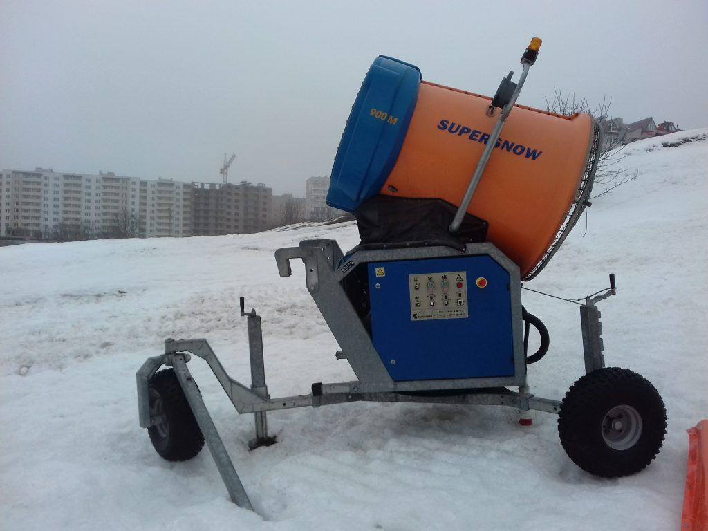 Снігова гармата - система засніження купити