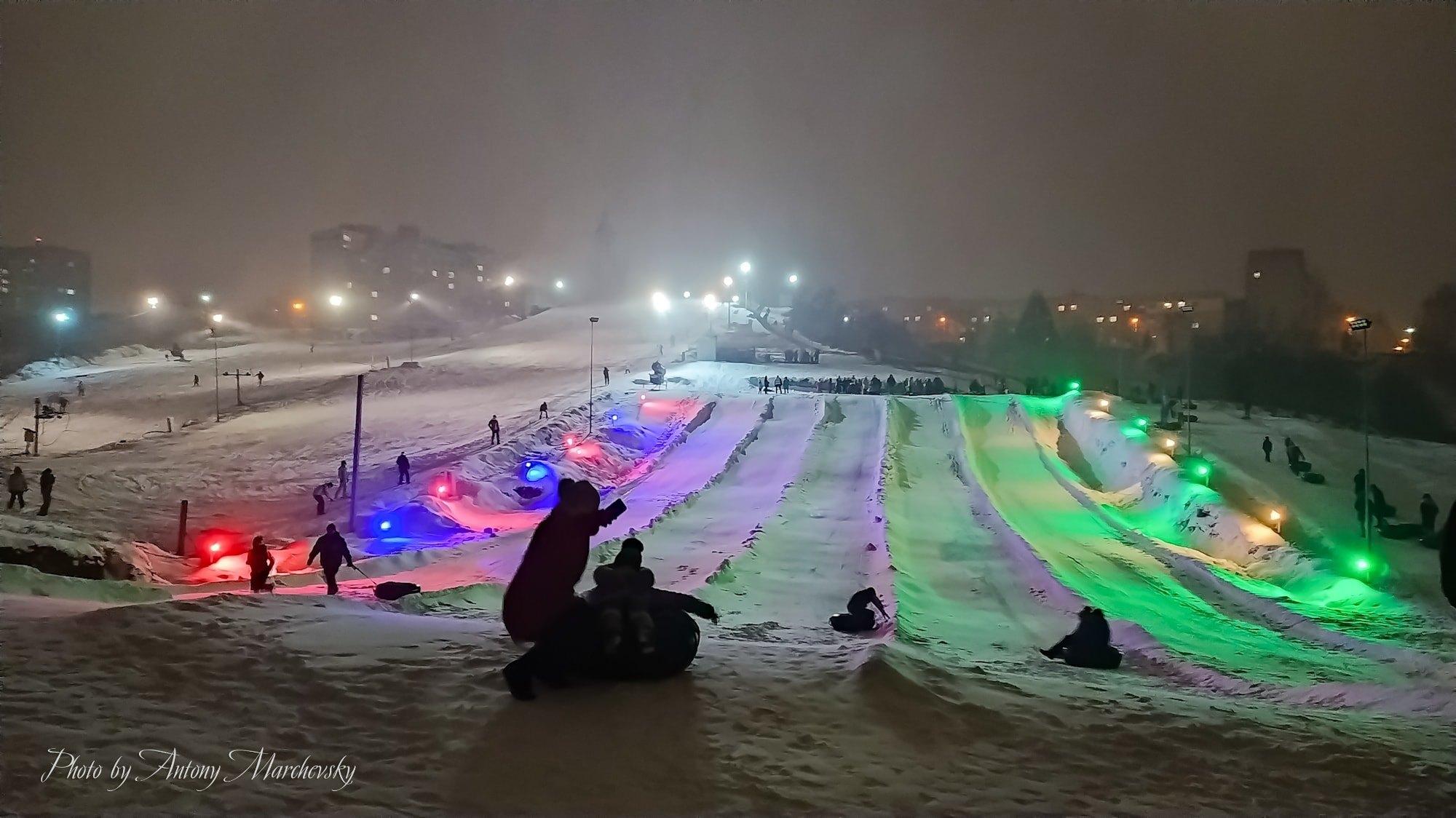 Савич Парк Тернопіль нічні катання